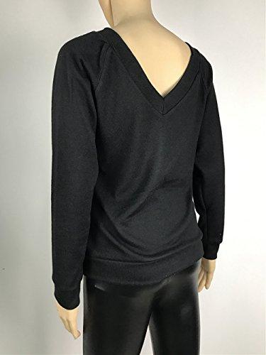 Femme Sweater Hiver et Mode Casual Unie Haut Chemisiers V Couleur JackenLOVE Col Chandail Tops T Tricots Automne Shirts Pulls Znz5Fw