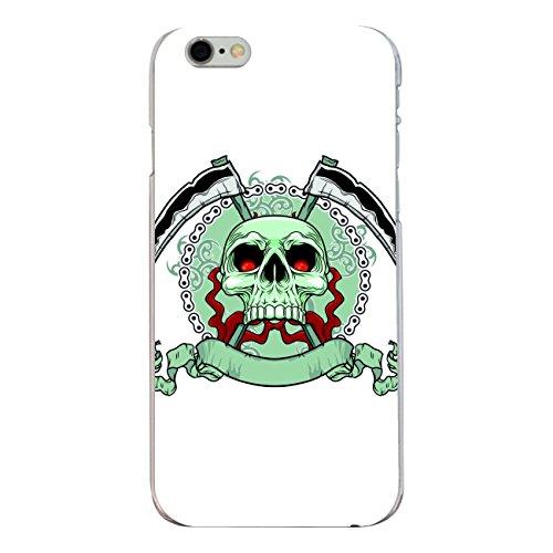 "Disagu Design Case Coque pour Apple iPhone 6s Housse etui coque pochette ""Killer Schädel weiss"""