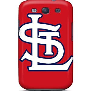 Protective Tpu Case With Fashion Design For Galaxy S3 (st. Louis Cardinals)