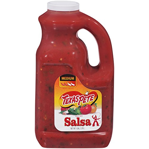 Texas Pete, Medium Salsa 1 Gallon (4 count) by Texas Pete