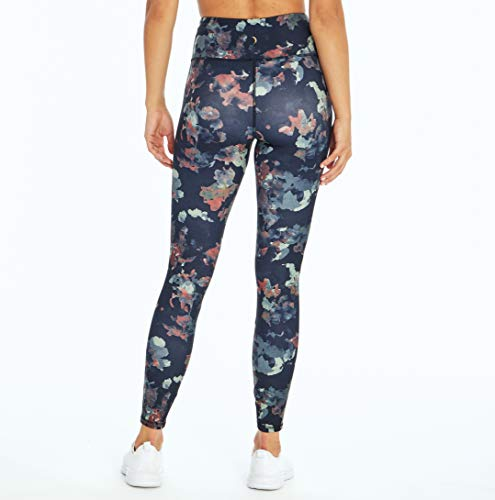 Jessica Simpson Sportswear Zoey High Rise Legging, Meteorite Abstract Cut Blooms, Small