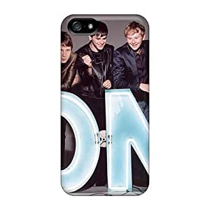 Excellent Hard Phone Covers For Iphone 5/5s (pPN1742AKtt) Custom Realistic Franz Ferdinand Band Skin