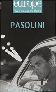 Europe, N° 947, mars 2008 : Pasolini par Xavier Daverat