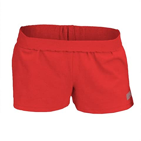 Soffe Juniors The New Short, Red, Small - Dyed Cotton Short