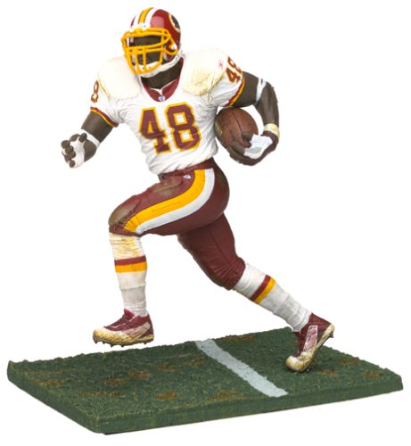 (McFarlane Toys NFL Sports Picks Series 5 Action Figure Stephen Davis (Washington Redskins) White Jersey)