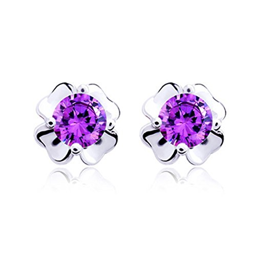 [Time Pawnshop Simple Sterling Silver Clover Fashion Lady Cute Stud Earrings] (Top Diy Halloween Costumes 2016)