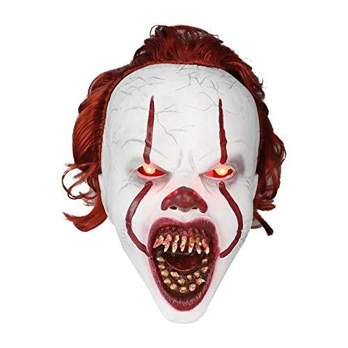 cobud Halloween Mask Horror Scary Mask Cosplay