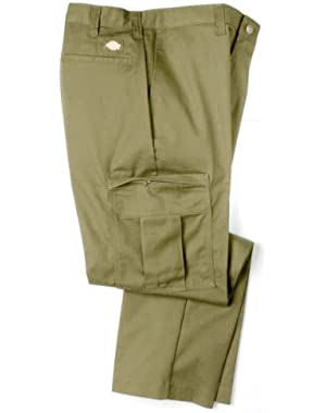 Mens 2112372 Cargo Pant-UNIQUE INSEAMS-KHAKI