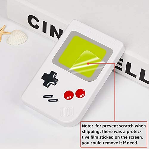 LEYUS Game Card Case for Nintendo Switch Games,10 Slot Card & MircoSD Card Storage Holder, Small Size Slim and Portable (White)