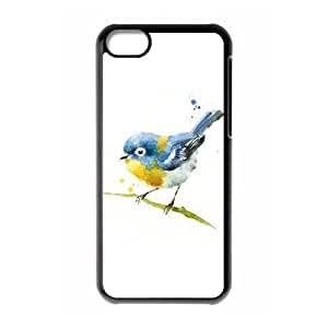 D-PAFD Print Watercolor Pattern PC Hard Case for iPhone 5C