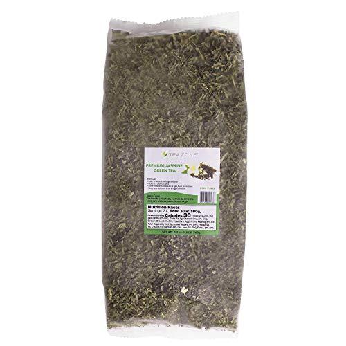 Tea Zone 8.5 oz Premium Jasmine Green Tea Bag (Mini Green Tea Mochi)