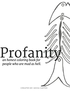 profanity an honest coloring book for people who are mad as hell honest - Unicorns Are Jerks Coloring Book