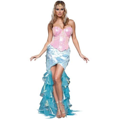 InCharacter Costumes Women's Mesmerizing Mermaid Costume, Pink/Blue, X-Small