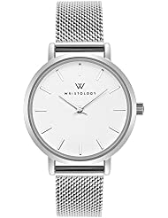 WRISTOLOGY Charlotte Womens Watch Silver Metal Mesh Ladies Changeable Strap Band