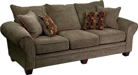 Amazon.com: flash furniture 3700 obra maestra seta sofá ...