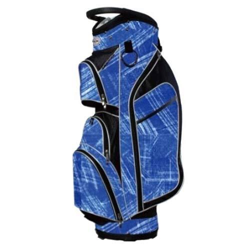 Taboo Golf Women Monaco Lightweight Cart Bag Blue Brushstrokes