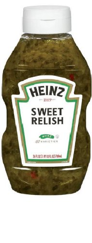 Heinz Sweet Relish (26 oz Bottles, Pack of 9) by Heinz