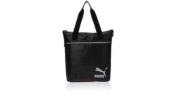 Puma Spirit – Bolso para mujer (negro y plata envejecida