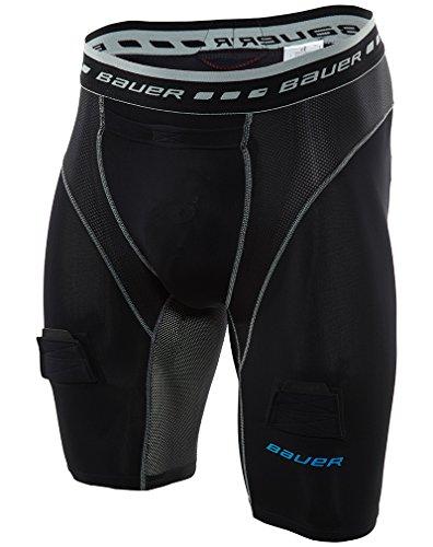 Bauer Jock Short - Bauer Core Compress Jock Short Mens Style: 1039240-BLK Size: S