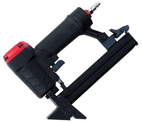 3 PRO S9725 21-Gauge Flooring Stapler, 3/8 - 1-Inch Long, Black/Red