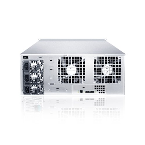 Sans Digital EliteSTOR 4U 24 Bay 6G SAS/SATA to SAS JBOD with SAS Expander Rackmount (ES424X6+B)