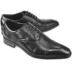 MM/ONE Mens Double Monkstrap shoes Oxford Shoes Dress shoes Formal Black 42 EU (US Men's 9-9.5 M)