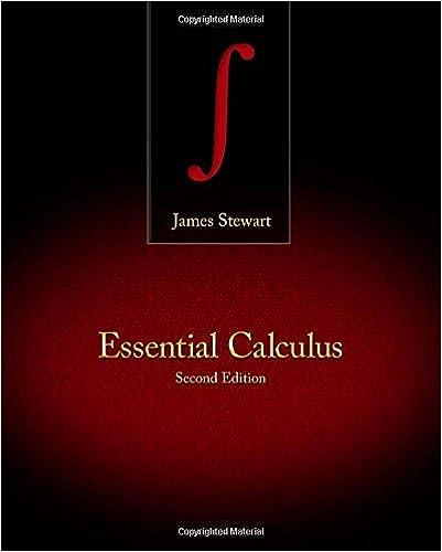 Essential Calculus: James Stewart: 9781133112297: Amazon.com: Books