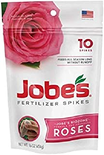 product image for (12) packages Jobes 04102 10 Pack Slow Release Rose Fertilizer Spikes