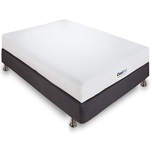 Classic Brands Cool Gel Memory Foam 6-Inch Mattress, Full (Full Size Bed And Mattress Set)
