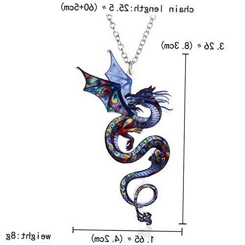 Hebel Novel Women Thermal Transfer Printing Animal Cat Dog Pendant Necklace Jewelry | Model NCKLCS - 34109 | ()