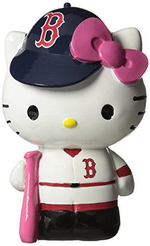 - Boston Red Sox Hello Kitty Resin Bank