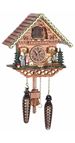 - Trenkle Quartz Cuckoo Clock Swiss House with Music TU 489 QM