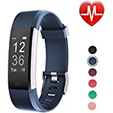 LETSCOM Fitness Tracker HR, Smart Watch with Heart Rate Monitor Sleep Monitor Step Counter Pedometer, IP67 Waterproof Wireless Activity Tracker Watch for Women Men Kids