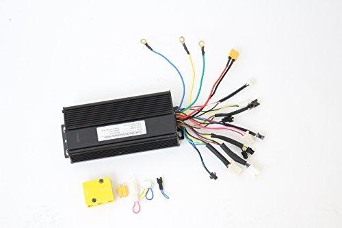 HalloMotor Black 48V 1000W 26A Brushless DC Sine Wave Controller 36V 750W ebike controller Regenerative Braking For Sale