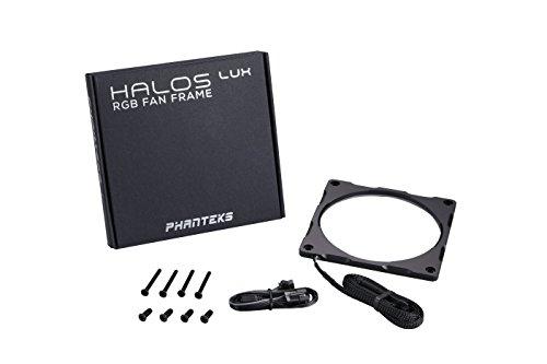 Phanteks PH-FF120RGBA_BK01 Halos Lux RGB Fan Frame High density LEDs RGB 120mm fan mounting