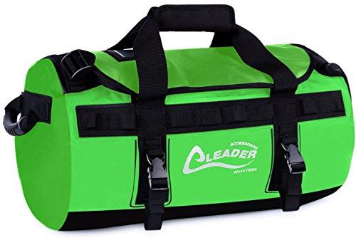 Leader Accessories Deluxe Water Resistant PVC Tarpaulin Duffel Bag Backpack  40L 70L 90L - Buy Online in Oman.  a9d81c5aaa02b
