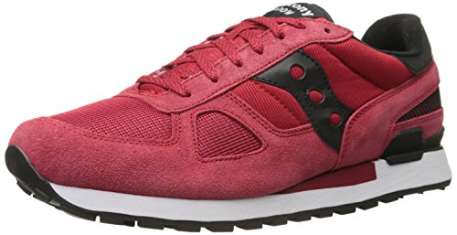 Saucony Shadow Original, Chaussures de Running Homme, Red/Black, 46,5 EU Multicolore (Re D Black 599)