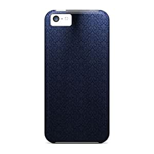 BJBcke Iphone 5c Well-designed Hard Case Cover Blue Theme Protector