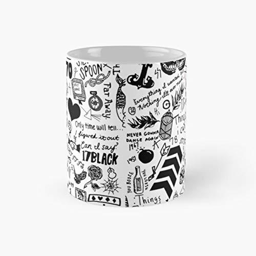(1D Tattoos 2015 Mug, harry styles Funny Mugs, 11 Ounce Ceramic Mug, Perfect Novelty Gift Mug, Tea Cups, Funny Coffee Mug 11oz, Tea)