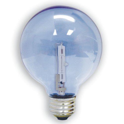 [GE Lighting 82141 60-Watt 675 Lumens G25 Reveal with Halogen Long Life Globe] (60w Reveal Globe)