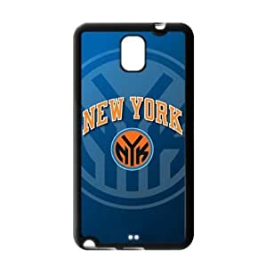 Perfectly Designed Samsung Galaxy Note 3 TPU Case with New York Knicks Logo Background-by Allthingsbasketball