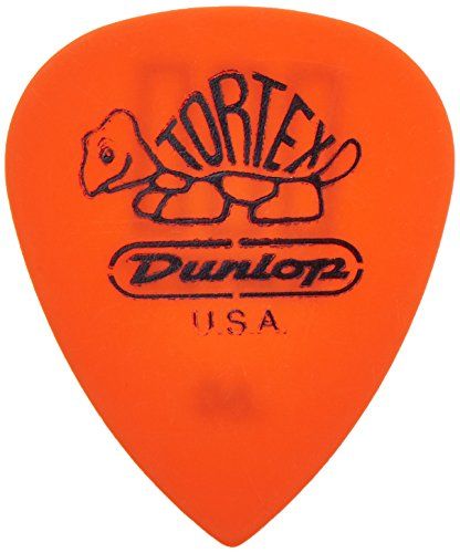 Dunlop 462P.60 Tortex TIII, Orange, .60mm, 12/Player's Pack by JIM DUNLOP