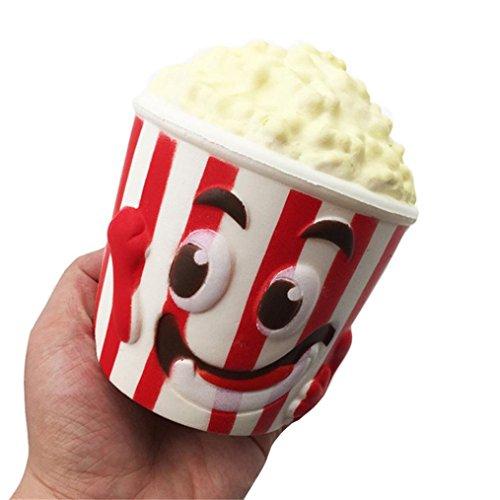 Jouets en peluche Cadeau, Mml Big Popcorn Tasse Squishy parfumée Squishy lent Rising Squeeze jouet Jumbo Collection