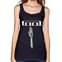YH Alternative Rock Band Tool Poster Tank Top For Women Black