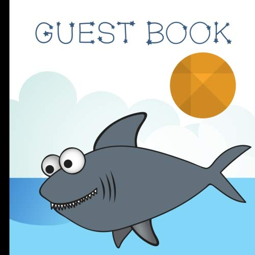 Books : Guest Book: Baby Shark Party Guest Book Includes Gift Tracker and Picture Pages For a Lasting Memory Keepsake (Baby Shark Birthday Party Supplies,Baby Shark Party Decorations) (Volume 1)