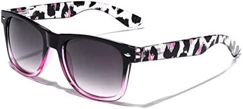 Animal Print Ladies Retro Fashion Sunglasses
