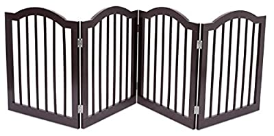 Internet's Best Dog Gate with Arched Top