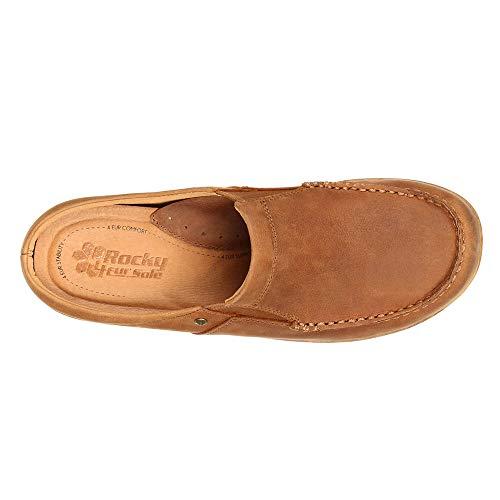 Moc 4ever Comfort 4EurSole Sandal Toe Slide Tan RKH224 Women's qwIUO