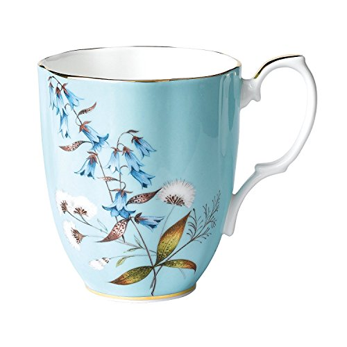 Royal Albert 100 Years 1950 Mug, 14.1 oz, Multicolor (Albert China Royal Bone Mug)