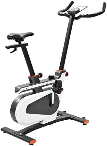 Festnight Bicicleta Estática Magnética con Pulsómetro, 8 Niveles ...